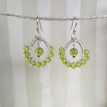 Citrus Green Earrings