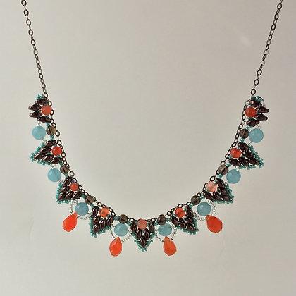 Carnelian Drop Necklace