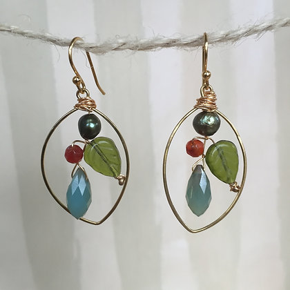 Forest Bouquet Earrings