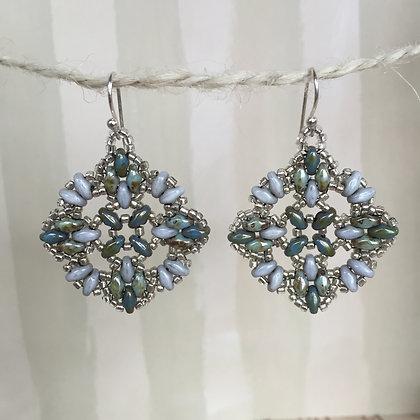 Stony Quatrefoil Earrings