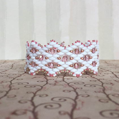 Valentine Lattice Bracelet