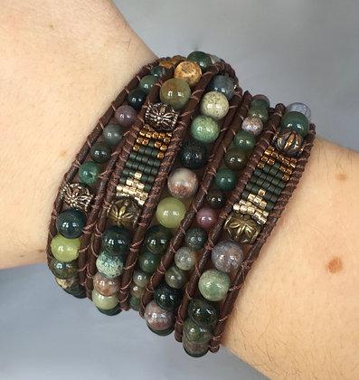 Fancy Jasper Arrow Bracelet