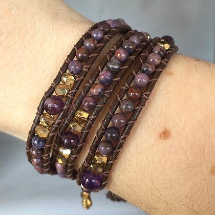 Purple Jasper Bracelet