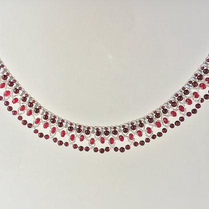 Baroque Ruby Necklace