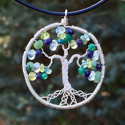 Sapphire, Emerald, Peridot, Aquamarine