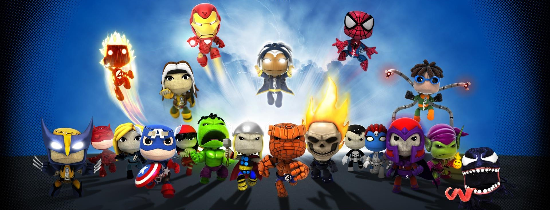 LittleBigPlanet_ Marvel Arcade