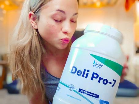 Eiwitshake Deli Pro-7 (vanille)