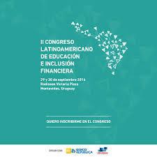 flyer II Congreso Latinoamericano de educación e inclusión financiera