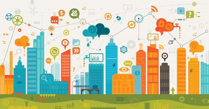 ciudad conectada por internet