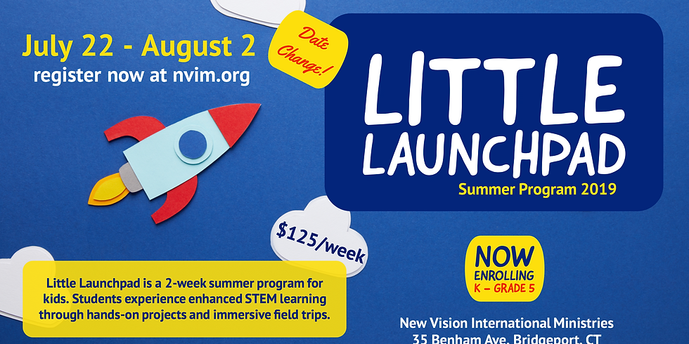 Little LaunchPad Scholarship and Registration Deadline!