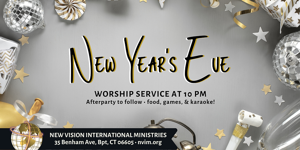 New Year's Service & After Party!
