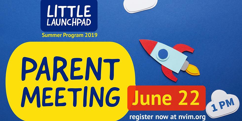 Little LaunchPad Parent Meeting