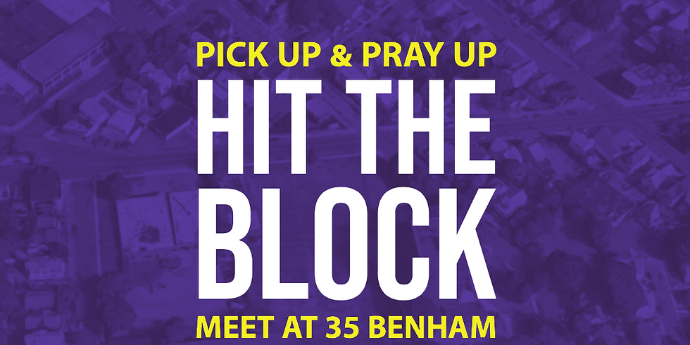 Hit the Block- Saturday Cleanup