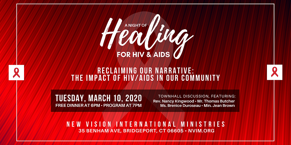 A Night of Healing for HIV & AIDS