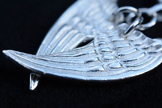 Fine silver Angel Wings necklace - Archangel Micheal