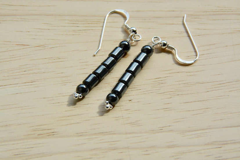 Hematite - Earrings