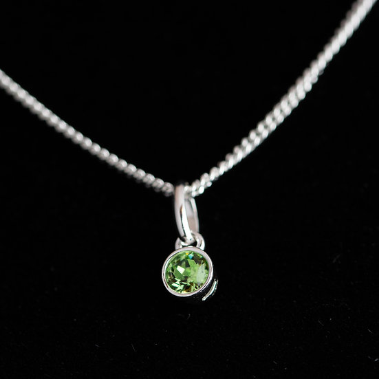August Birthstone - Swarovski Crystal - Peridot