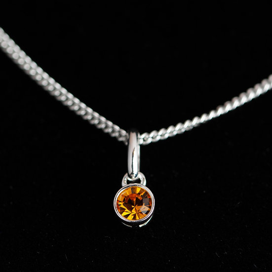 November Birthstone - Swarovski Crystal - Topaz