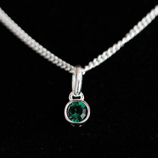 May Birthstone - Swarovski Crystal - Emerald
