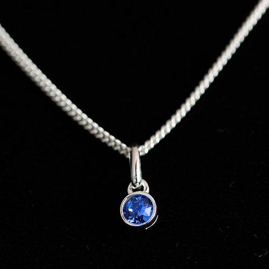 September Birthstone - Swarovski Crystal - Sapphire