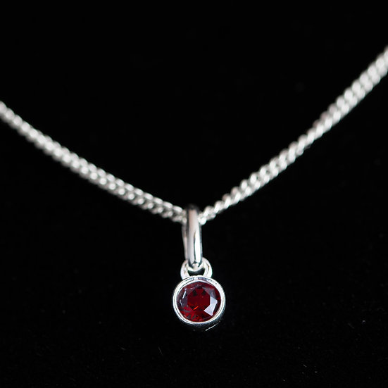 July Birthstone - Swarovski Crystal - Ruby