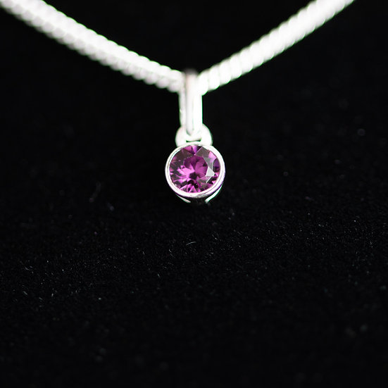 February Birthstone - Swarovski Crystal - Amethyst