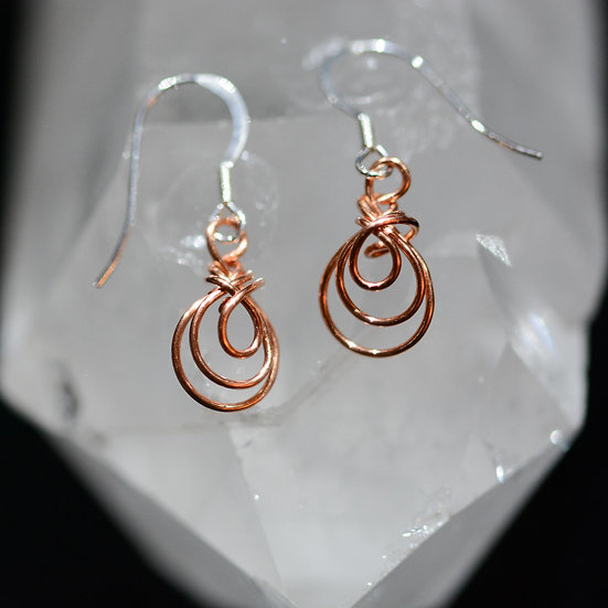 Copper Pride - Earrings