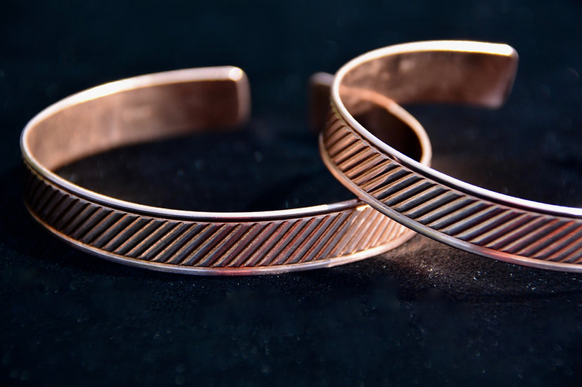 Copper Bracelet - Diagonal