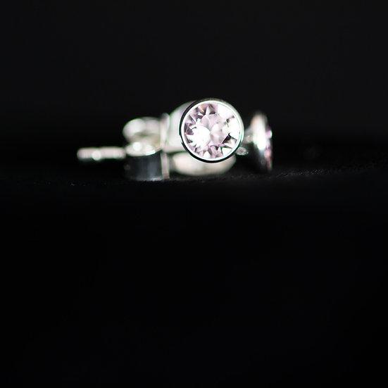 June Birthstone Earrings - Swarovski Crystal - Alexandrite