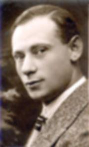 Kluger Zoltán 25 évesen, Budapest - fotó: Israel State Archives