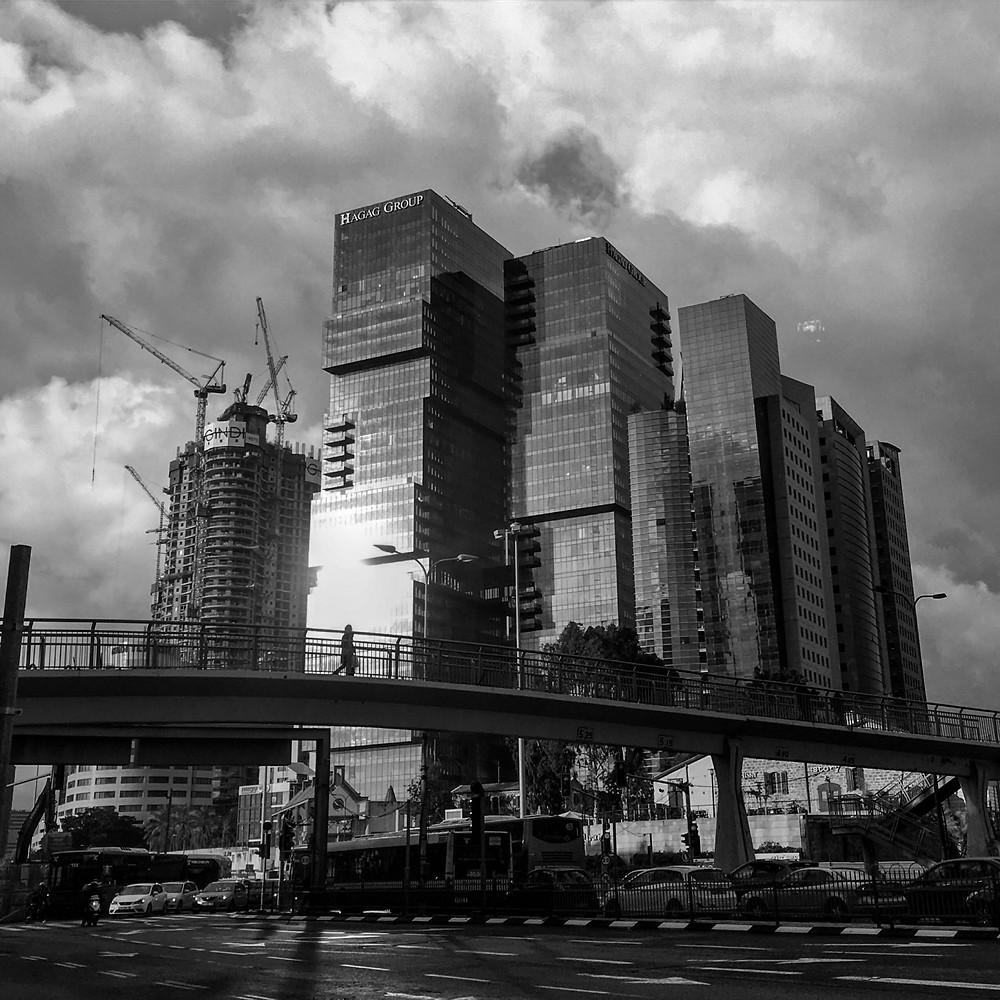 The high-rises of Sharona