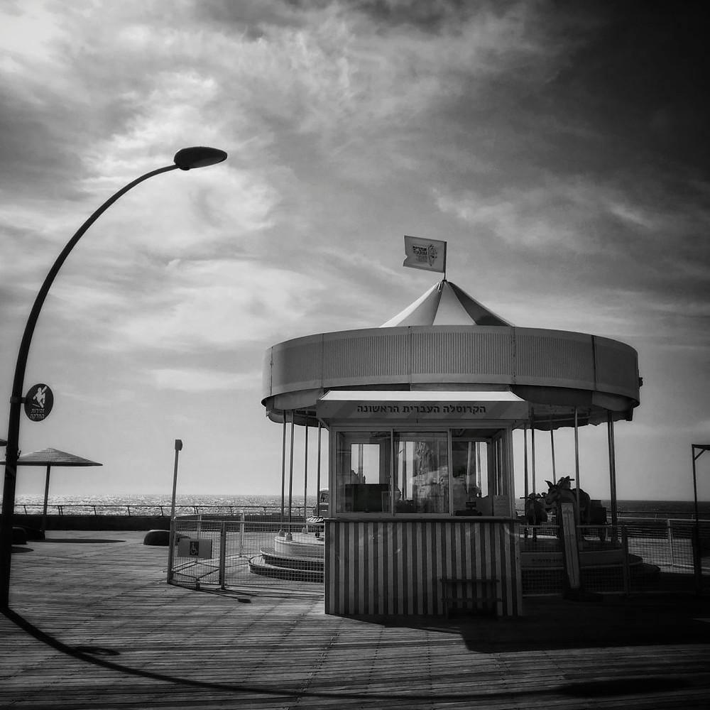 The Carousel in Tel Aviv Port