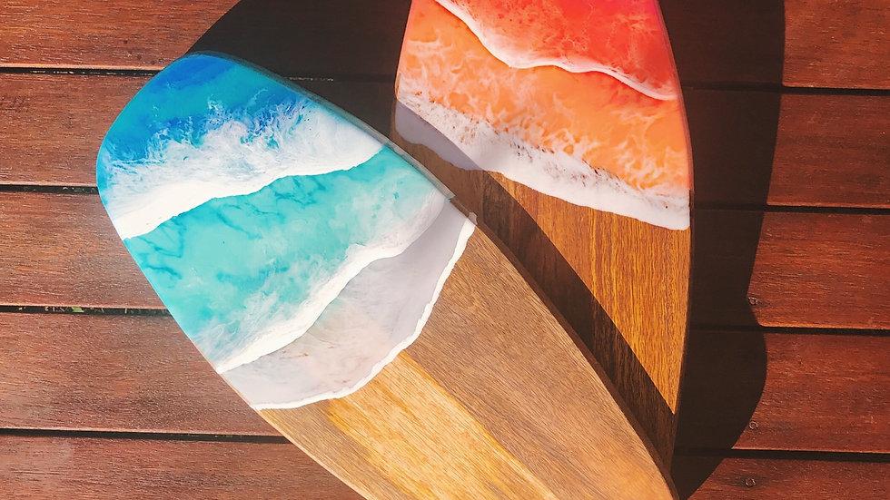 Large Surfboard Serving Board