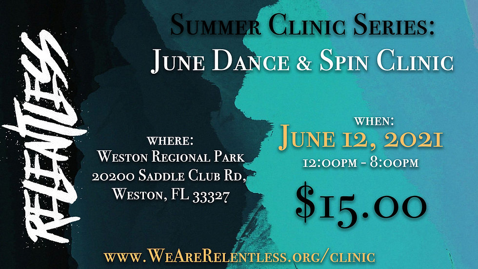 Relentless Summer Clinic - June