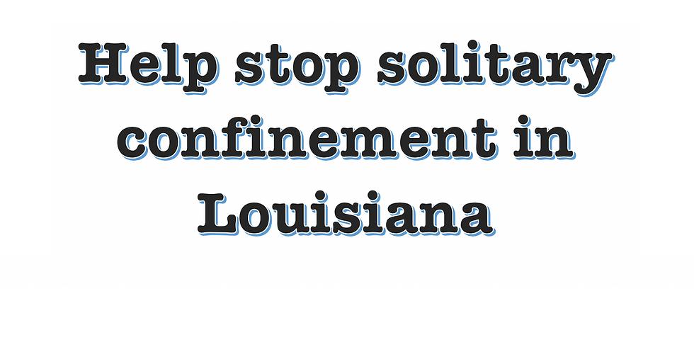 La Stop Solitary Meeting