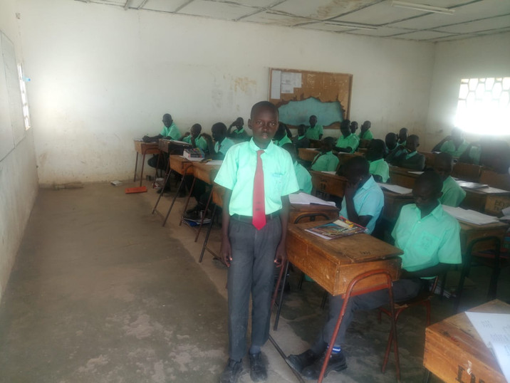 Gattwech at Lodwar High School