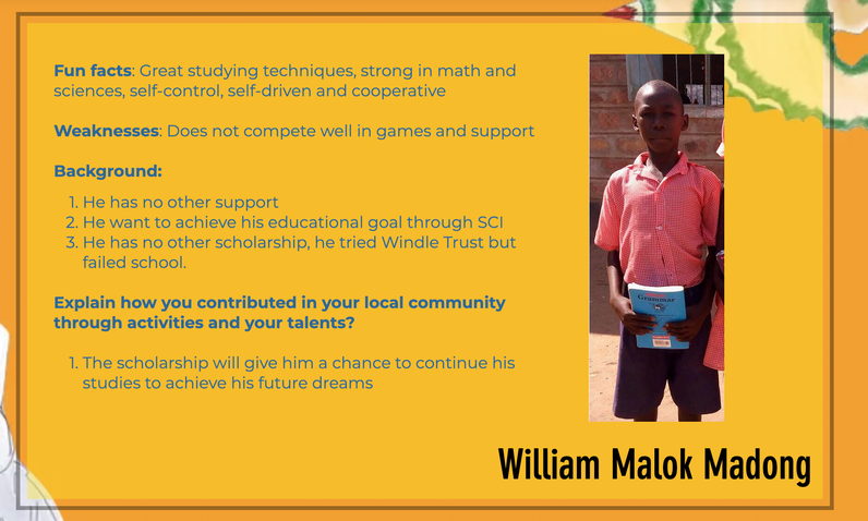 Get to know William!