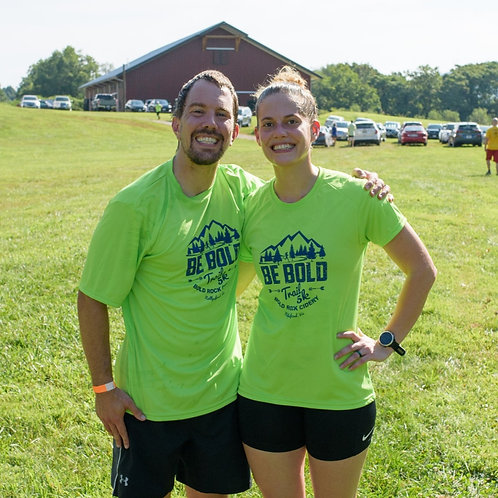 BE BOLD TRAIL 5K - Lime