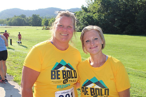 BE BOLD TRAIL 5K - Gold