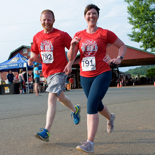 BE BOLD ORCHARD 5K - Red