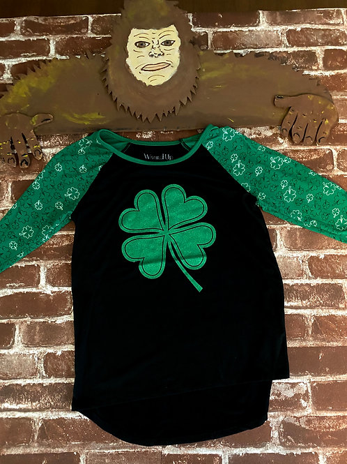Wound UP Shamrock long sleeve Tee