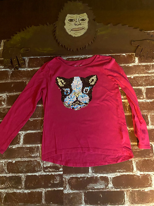 Long Sleeve flip sequin Dog Shirt: Children's Place