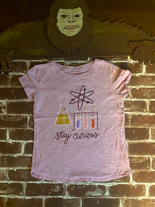 Cat & Jack Stay Curious Tee (Very Cool)