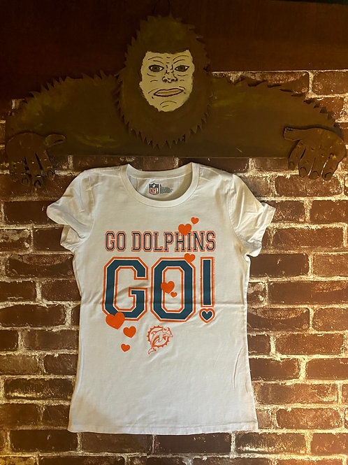 Dolphins Tee: Adult Small