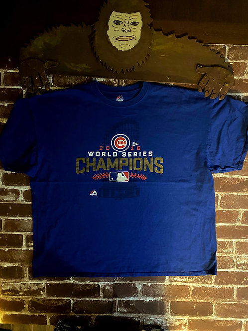 2016 Cubs World Series Champions Tee