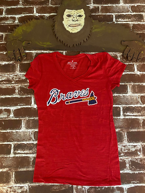 Soft as a Grape Brand Braves Tee