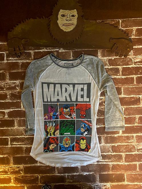 Girls Marvel long sleeve Super Hero