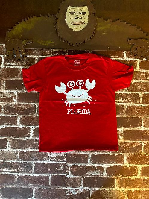 Kids Crab Florida Tee