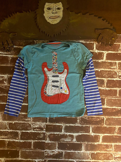 Mini Boden Guitar long sleeve Tee