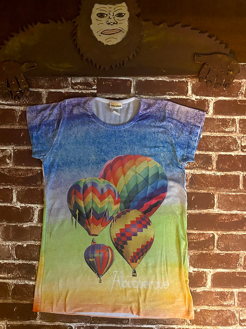 SunShirt Hot Air Ballon Colorful Tee